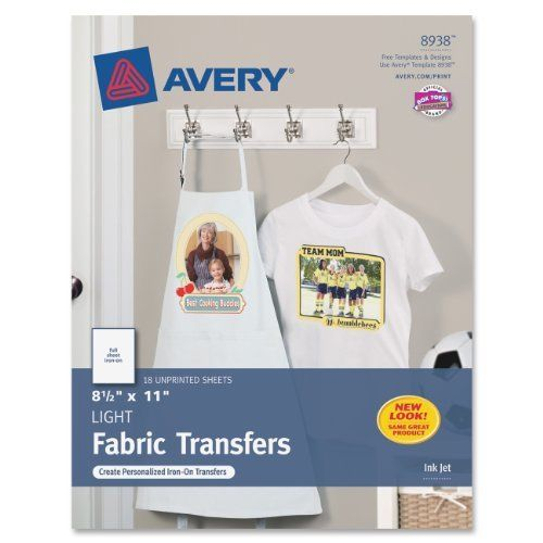 Avery Iron-on Transfer Paper 8938