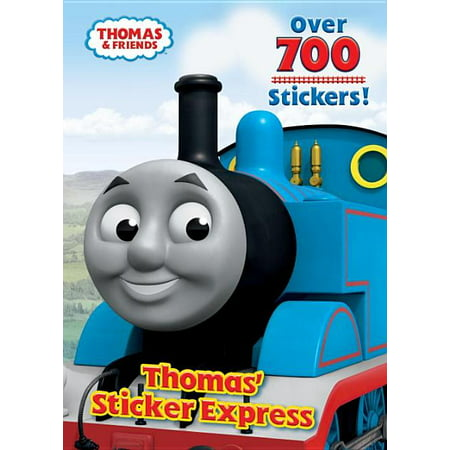 THOMAS' STICKER EXPRESS (Thomas & Friends) (Paperback)