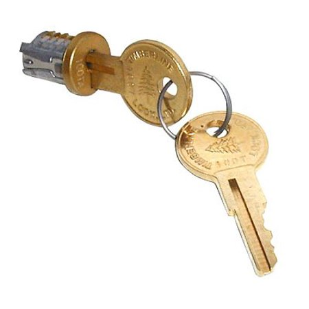 f88da14ccf8d Timberline Lock Plug Old English Keyed Alike Key Number 101, Bronze ...