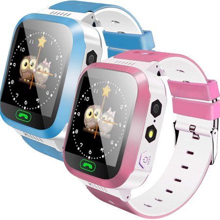 Children Kids Smart Watch GPS Tracker Remote Security SOS Call Monitoring Smart Watch For