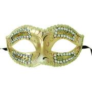 Petite Eye Costume Mask Gold/Pink