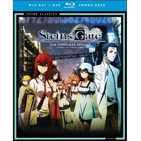 Steins Gate  The Complete Classic Series  Blu Ray   Dvd