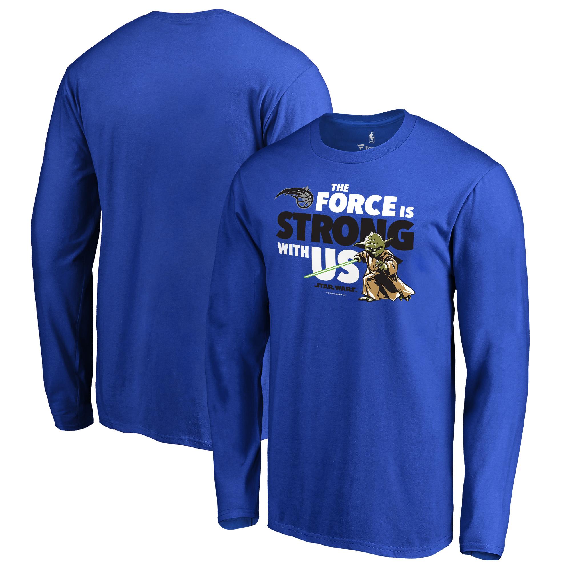 Orlando Magic Fanatics Branded Star Wars Jedi Strong Long Sleeve T-Shirt - Royal