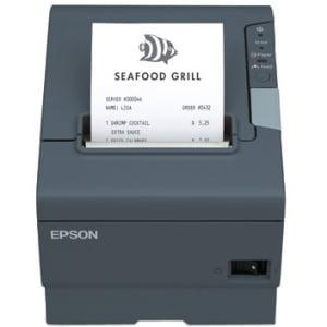 Epson TM-T88V Direct Thermal Receipt Printer, Dark Gray -...