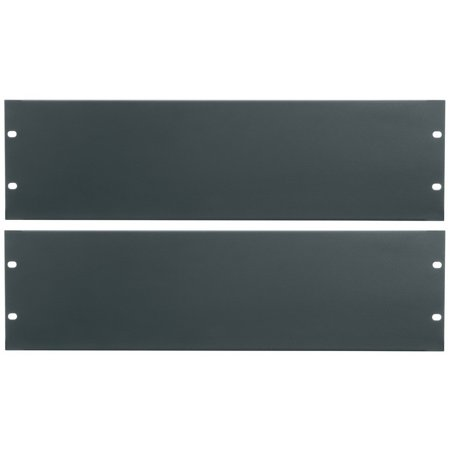 Essex by Middle Atlantic FBPANEL-3U-2PK Flanged Blank Rack Panel 3U -