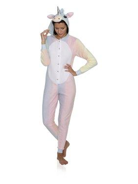 Animal Women's Adult Onesie Pajama Costume Cosplay, Penguin, Size: S