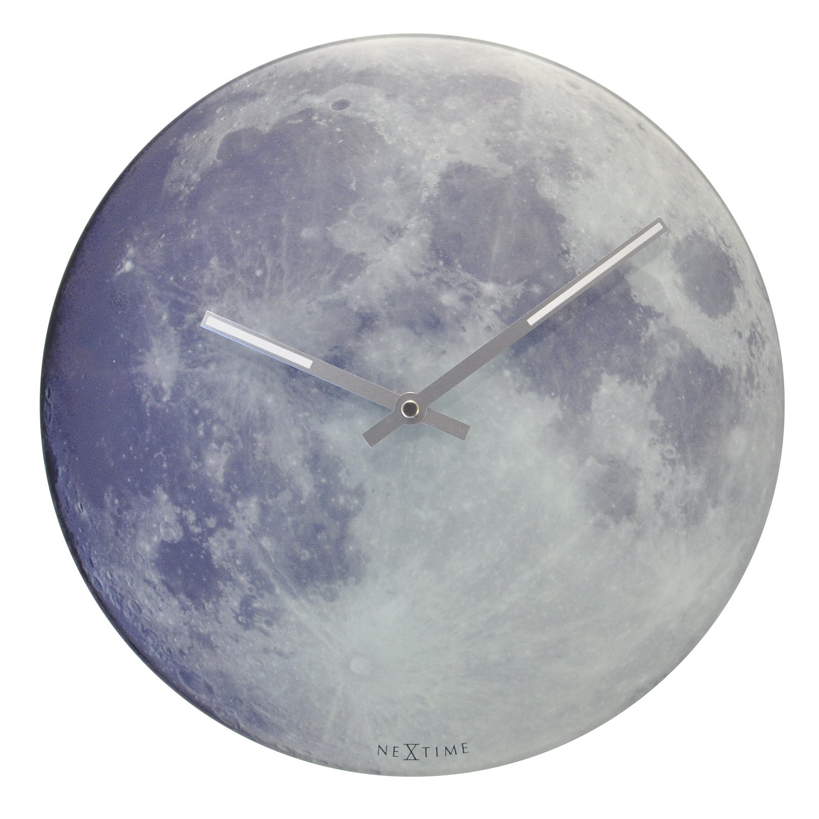 Control Brand Glow in the Dark Moon Wall Clock - 11.81 in.