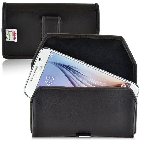 Turtleback iPhone 8/7 Black Leather Executive Horizontal Belt Clip - A-PMPHozXLEM-X - image 1 of 1