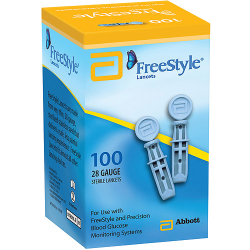 FreeStyle Lancets, 100 count, 28 Gauge