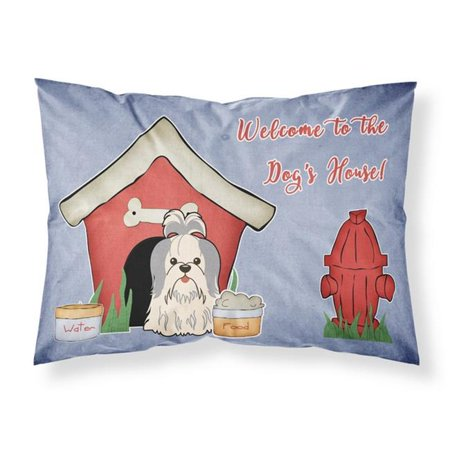Carolines Treasures BB2839PILLOWCASE Dog House Collection Shih Tzu Silver White Fabric Standard Pillowcase, 20.5 x 0.25 x 30 in. - image 1 de 1