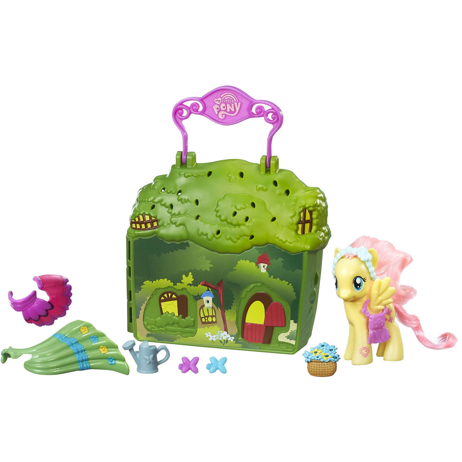 My Little Pony Friendship is Magic Fluttershy Cottage Playset by Hasbro
