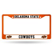 Oklahoma State Cowboys Metal License Plate Frame - Orange