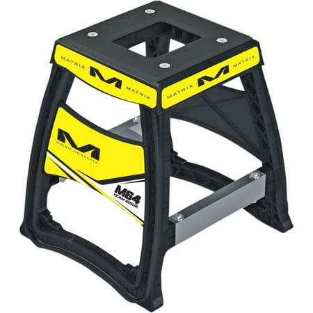 Matrix Concepts Black & Yellow Elite Motorcycle Stand 284753