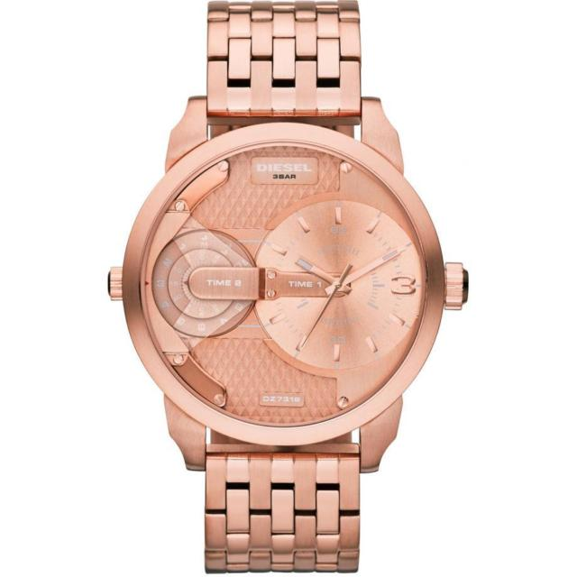 Diesel Daddy Dz7318 Rose Gold Chronograph Men's Watch
