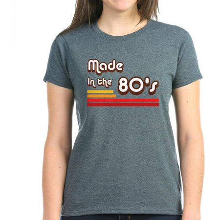 a342cacb CafePress - Made In The 80's Women's Dark T-Shirt - Walmart.com