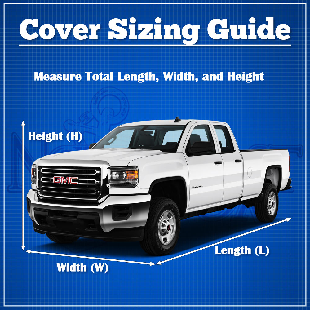 Short Bed up to 18 1 Length Waterproof All Weather Covers Breathable Outdoor Indoor Superior Pickup Truck Cover Fits Pickup Trucks with Standard Cab 217 x 70 x 60 Gray Color