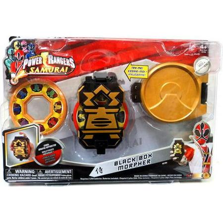 Power Rangers Samurai Ranger Gear Black Box Morpher ...