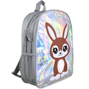 "Bunny Holographic 16"" Backpack"