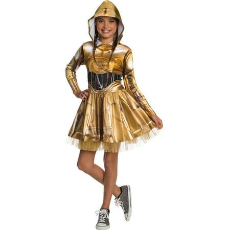 Starwars Dress Up (Halloween Star Wars C3Po)