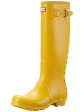 Hunter WFT1000RMA-RYL: Women's Original Tall Yellow Rain Boots