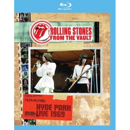 - The Rolling Stones: From the Vault Hyde Park 1969 (Blu-ray)