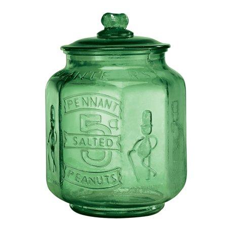 Classic Green Large Peanut Jar