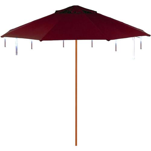 "Kurt Adler 7"" 8-Light Battery-Operated Umbrella Outdoor LED Set"