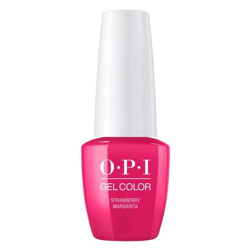 Opi Opi Gelcolor Gel Nail Polish Strawberry Margarita 0 25 Fl Oz Walmart Com Walmart Com