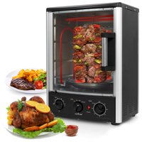NutriChef PKRT97 - Multi-Function Vertical Oven - Countertop Rotisserie Oven with Bake & Roast Cooking