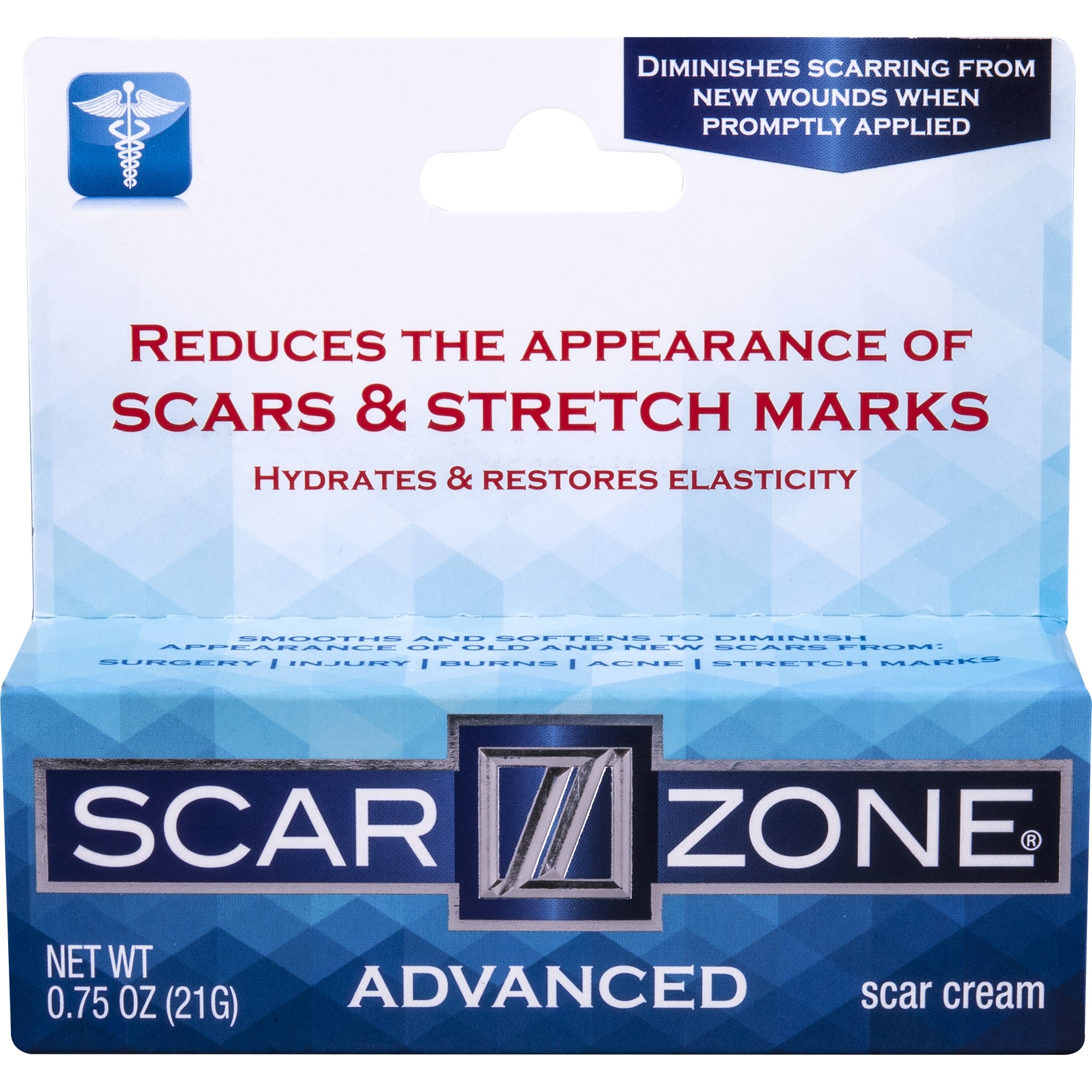 Scar Zone Acne Cream with Green Tea 0.50 oz (Pack of 2) eos Smooth Lip Balm Sphere, Pomegranate Raspberry 0.25 oz (Pack of 4)