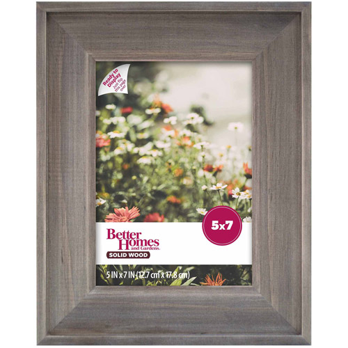 Better Homes and Gardens 5x7 Gallery Frame, Rustic Wood