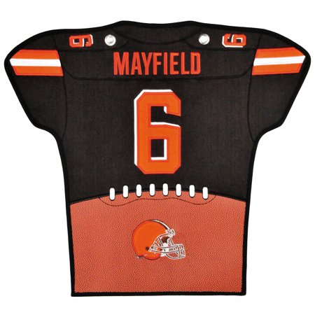 buy online bfcc4 93886 Baker Mayfield Cleveland Browns 14'' x 22'' Jersey Traditions Banner -  Brown/Orange - No Size