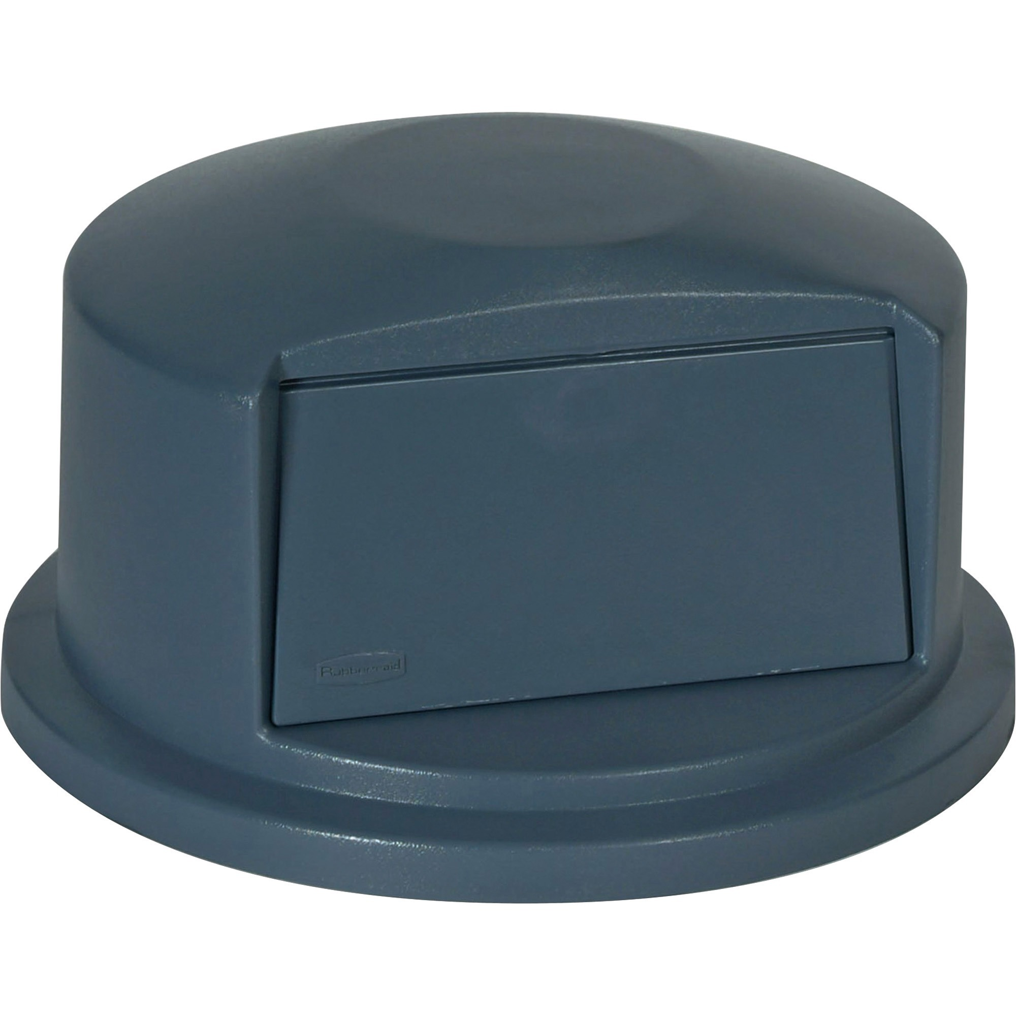 Rubbermaid Commercial, RCP263788GY, Brute 32 Gallon Dome-shaped Lids, 1 Each, Gray