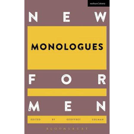 New Monologues for Men - eBook