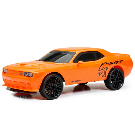 New Bright 1:12 R/C Full-Function Chargers, Challenger SRT, Orange