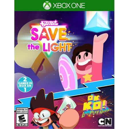 Steven Universe: Save the Light & OK K.O.! Let's Play Heroes, Outright Games, Xbox One,