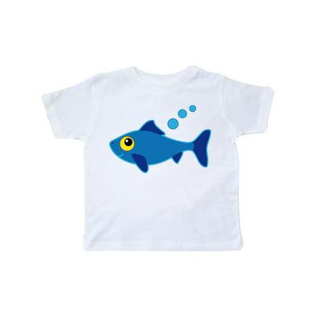 Fishing Blue Fish Toddler T-Shirt
