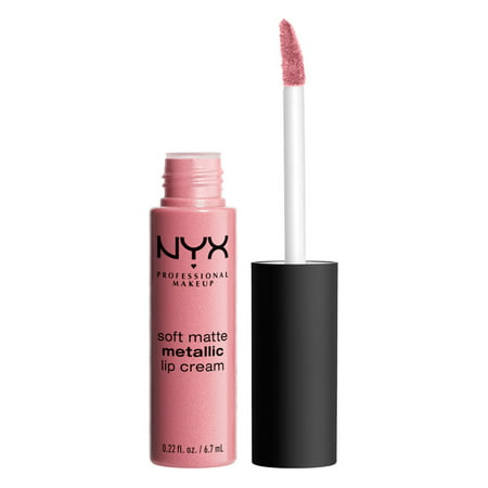 NYX Professional Makeup Soft Matte Metallic Lip Cream, Milan