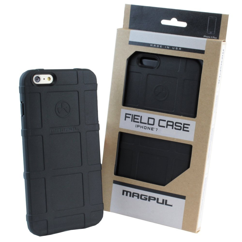"Magpul iPhone 7 Case, Magpul Industries Field Case Phone Carrying Cover for Apple iPhone 7 (4.7"") Retail Package MAG845-BLK (Black)"