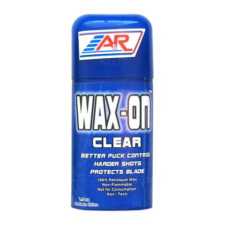 Hockey Stick Wax - A&R Hockey Stick Wax On ½ Clear Rub On Stick 100% Petroleum Wax Protects Blade