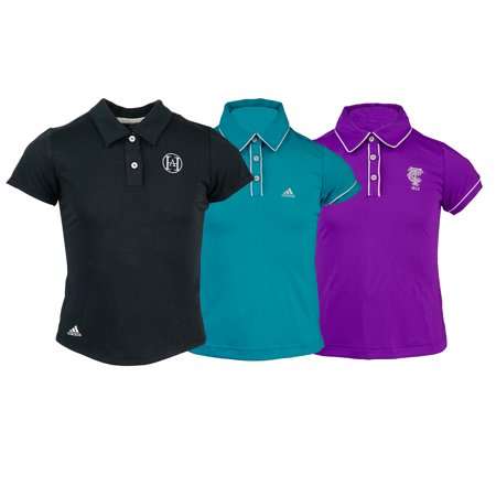 Adidas Womens Polos (adidas Girl's Logo Overrun Polo Shirt Assorted Colors)