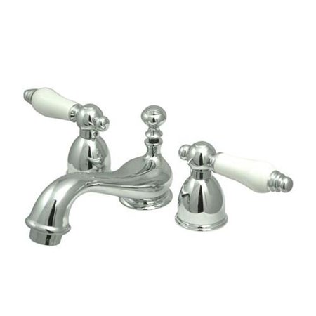 Elements Of Design Es3951pl Double Handle 4 To 8 Mini Widespread Bathroom Faucet With