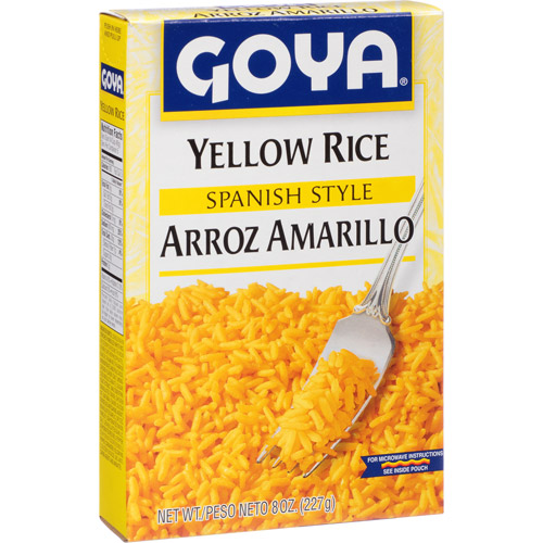 Goya Spanish Style Yellow Rice Arroz Amarillo, 8 oz, (Pack of 24)