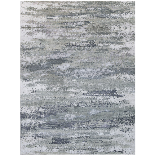 17 Stories Blanchard Hand-Tufted Gray Area Rug