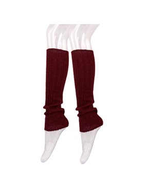 ca6985909 Product Image Fancy Slip Stitch Rib Knit Solid Color Leg Warmers