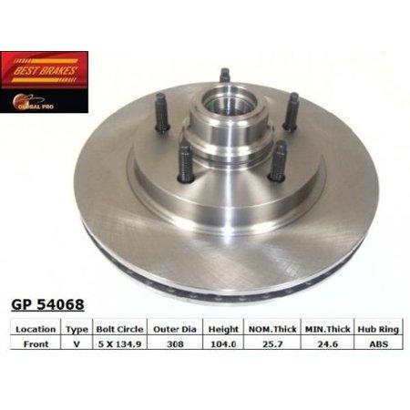 121.65055 ROTOR (Best Brake Rotor Material)