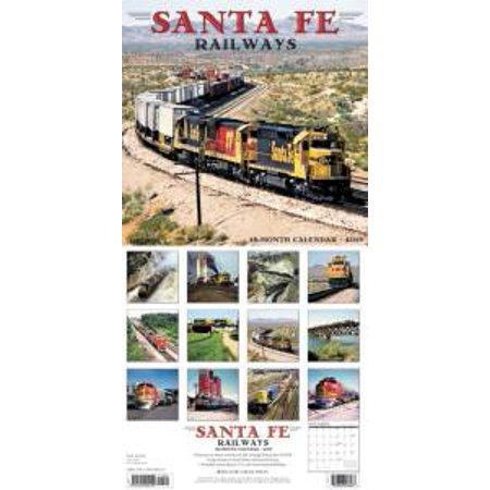 Sante Fe Railways 2019 Calendar - image 1 of 1