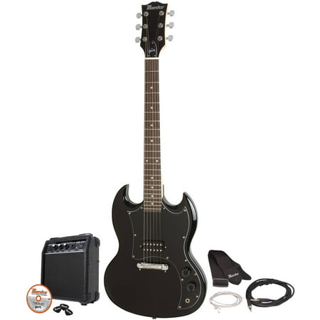 Maestro by Gibson MESGBKCH Double Cutaway Electric Guitar (Best Electric Guitar Under 1000 Dollars)