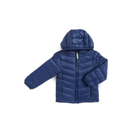 Little Boy's Down-Filled Puffer Jacket - Lights Clothing