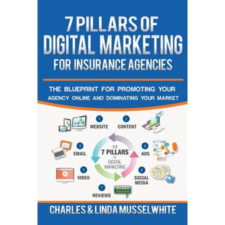 7 Pillars of Digital Marketing for Insurance Agencies : The Blueprint for Promoting Your Agency Online and Dominating Your
